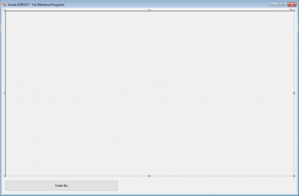 EMGU.CV Kullanarak Görsel Üzerinden Yüz Belirleme Uygulaması