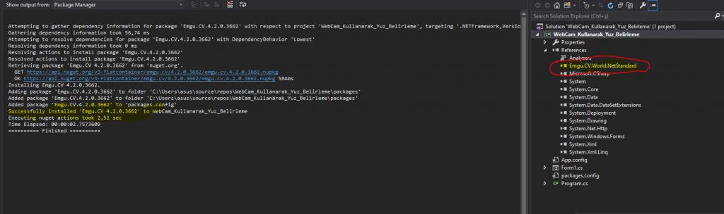 EMGU.CV Kullanarak WEBCam Üzerinden Yüz Belirleme Uygulaması
